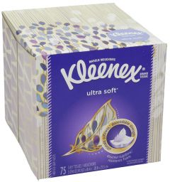 Kleenex Ultra Soft Tissue Box