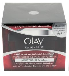 Olay Regenerist Microsculpting Anti Ageing Moisturizer 50ml |?sultan-center.com????? ????? ???????