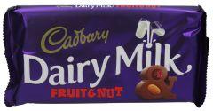 Cadbury Dairy Milk Fruit & Nut Chocolate  230G |?sultan-center.com????? ????? ???????
