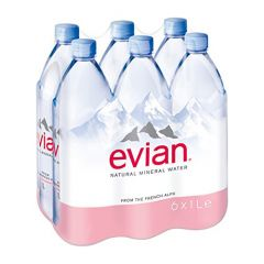 Evian Drinking Water