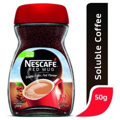 Nescafe Instant Coffee Red Mug Jar