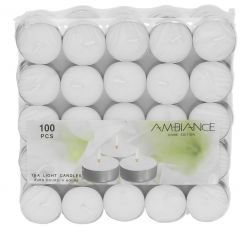 Ambiance Tea Light Candle 100pcs |?sultan-center.com????? ????? ???????