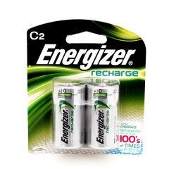 Energizer Recharge C2 Rechargeable Batteries 2Pcs |sultan-center.comمركز سلطان اونلاين