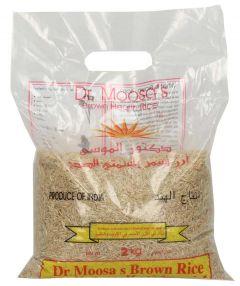 Dr. Moosa'S Brown Rice