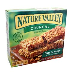 General Mills Nature Valley Crunchy Granola Bars 42G X 12Pcs |?sultan-center.com????? ????? ???????