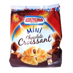 Americana Chocolate Mini Croissant 10 PCS 190G |?sultan-center.com????? ????? ???????