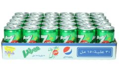 7 Up Soft Drink Can  150Ml X 30 |?sultan-center.com????? ????? ???????