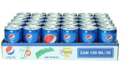 Pepsi Cola Soft Drink Can  150Ml X 30Cans |?sultan-center.com????? ????? ???????