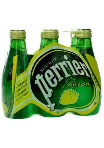 Perrier  Mineral Water Lemon Flavor  200Ml X 6Bottles  |sultan-center.comمركز سلطان اونلاين