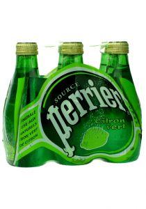 Perrier  Mineral Water Lime Lemon Flavor    200Ml X 6Bottles |sultan-center.comمركز سلطان اونلاين