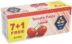 Al Wazzan Tomato Paste 135G X 8Pcs  sultan-center.comمركز سلطان اونلاين