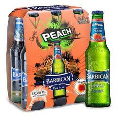 Barbican Peach Alcohol Free Malt Beverage  330Ml X 6Pcs |?sultan-center.com????? ????? ???????