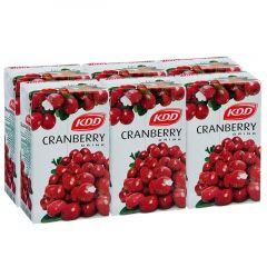 Kdd Cranberry Drink  250Ml X 6Pcs  sultan-center.comمركز سلطان اونلاين