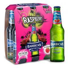 Barbican Raspberry Alcohol Free Malt Beverage  330Ml X 6Pcs |?sultan-center.com????? ????? ???????