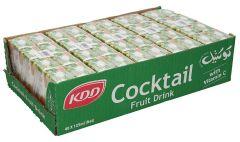 Kdd cocktail fruit juice drink  125Ml X 40pcs  sultan-center.comمركز سلطان اونلاين