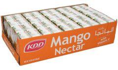 Kdd Mango Nectar  125Ml X 40Pcs  sultan-center.comمركز سلطان اونلاين
