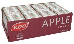Kdd Apple Juice  250Ml X 24Pcs  sultan-center.comمركز سلطان اونلاين