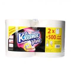 Kleenex Viva Household Paper Roll 500m | sultan-center.com مركز سلطان اونلاين