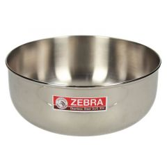 Zebra Stainless Steel Water Bowl