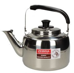 Zebra Classic Stainless Steel Whistle Kettle