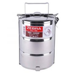 Zebra Stainless Steel 3 Tier Food Carrier
