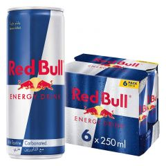 Red Bull Energy Drink Can  250Ml X 6Pcs |?sultan-center.com????? ????? ???????