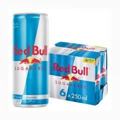 Red Bull Sugarfree  250 ML (6pack)