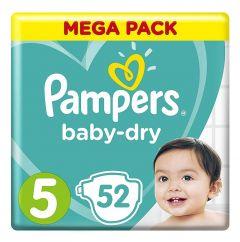 Pampers Baby Dry Jumbo Pack Juniors No.5 (11-16Kg)