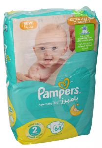 Pampers New Baby Size 2 Small Diaper 3-6KG