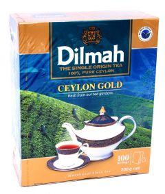 Dilmah Black Tea Bags Ceylon 100Pcs |?sultan-center.com????? ????? ???????