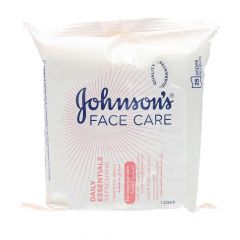 Johnson'S Face Care Refreshing Cleansing Wipes For Normal Skin  25Pcs |?sultan-center.com????? ????? ???????