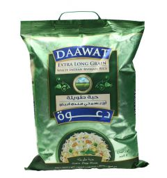 Daawat Extra Long Indian Basmati Rice 5Kg |?sultan-center.com????? ????? ???????