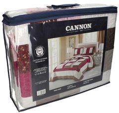 Cannon Assorted Color Twin Size Bedspread Set