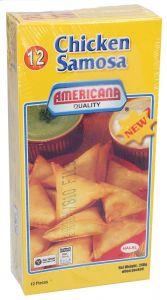 Americana Chicken Samosa 12Pcs 240g |sultan-center.comمركز سلطان اونلاين