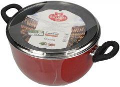 Ballarini Healthy Non Stick Pfoa Free Sauce Pan With 2 Handle & Steel Lid