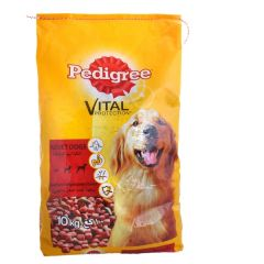 Pedigree Vital Protection - Beef and Liver Meaty Pockets  10Kg |?sultan-center.com????? ????? ???????