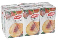 Kdd Peach Nectar  250Ml X 6Pcs  sultan-center.comمركز سلطان اونلاين