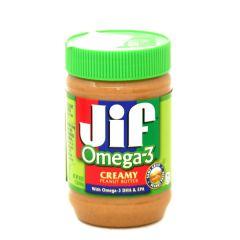 Jif Creamy Omega 3 Peanut Butter