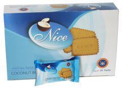 KFM Nice Coconut Biscuit  25G X 24Pcs  sultan-center.comمركز سلطان اونلاين