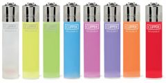 Clipper Classic Plain Lighter Assorted Color