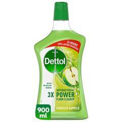 Dettol 4in1 Green Apple Disinfectant Multi Action Cleaner 900Ml |sultan-center.comمركز سلطان اونلاين