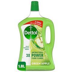 Dettol 4in1 Green Apple Disinfectant Multi Action Cleaner 1.8L |sultan-center.comمركز سلطان اونلاين