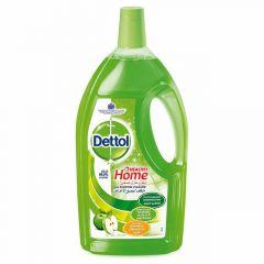 Dettol 4in1 Green Apple Disinfectant Multi Action Cleaner 3L |sultan-center.comمركز سلطان اونلاين