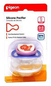 Pigeon Step 1 Silicon Lion Pacifier 1Pc |?sultan-center.com????? ????? ???????