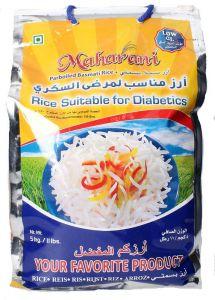 Maharani Parboiled Basmati Rice For Diabetics 5kg |sultan-center.comمركز سلطان اونلاين