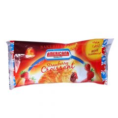 Americana Strawberry Croissant 1pc 60G |?sultan-center.com????? ????? ???????