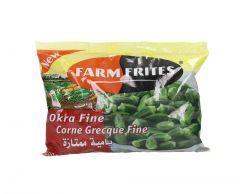 Farm Frites Frozen Okra Fine  400g |?sultan-center.com????? ????? ???????