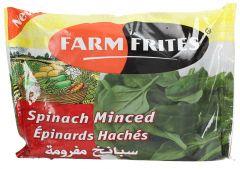 Farm Frites Frozen Minced Spinach 400g |?sultan-center.com????? ????? ???????