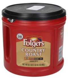 Folgers Country Roast Mild Ground Coffee