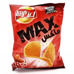 Lays Max Mexican Chili Chips 50G |?sultan-center.com????? ????? ???????